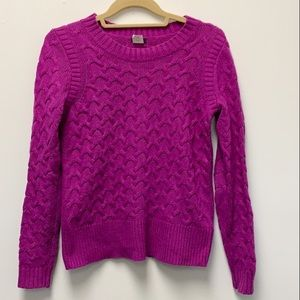 J.Crew purple sweater
